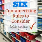 6 Containerizing Rules to Consider