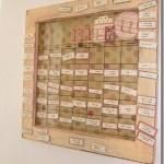 Magnetic Menu Plan Board Giveaway