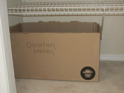 donation station