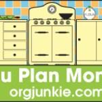 Menu Plan Monday ~ Sept 12/11