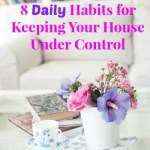 52 Weeks: #51  8 Daily Habits for Keeping Your House Under Control
