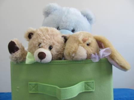 stuffie bin