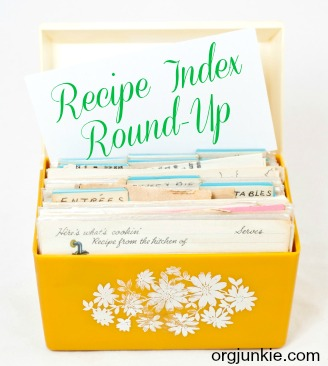 recipe index roundup