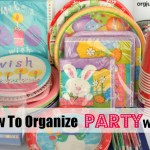 How to Organize Partyware