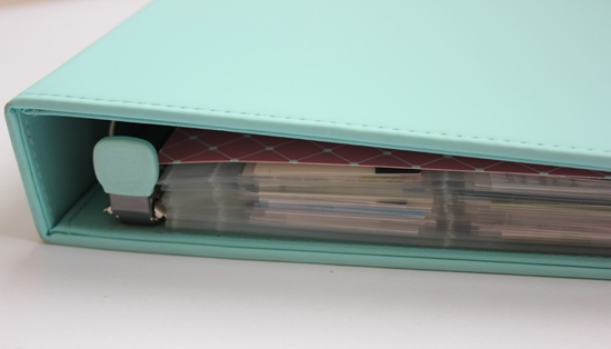 business card binder