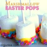 Easy Marshmallow Easter Pops
