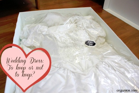 Wedding Dress: To keep or not to keep