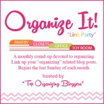 Organize It Linky Party ~ {November}