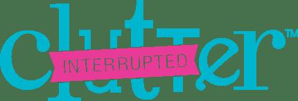 clutter interrupted logo