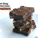 Super Easy Gluten Free Brownies