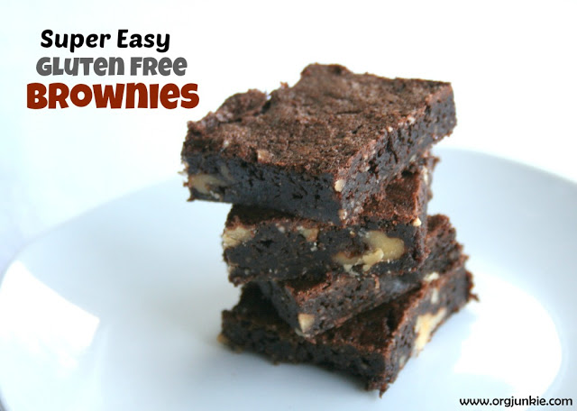 Gluten Free Brownies at orgjunkie.com