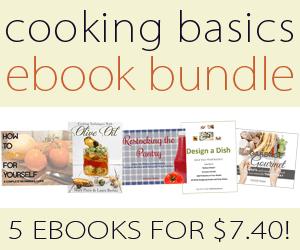 Cooking Basics ebook bundle - 5 ebooks for $7.40!