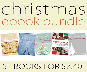 Christmas planning ebook bundle 5 ebooks for $7.40 - one week only