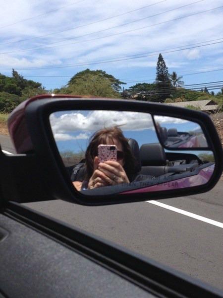 convertible driving