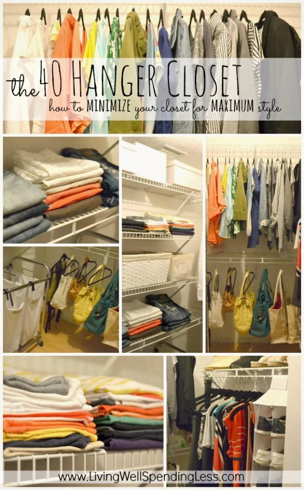 40 Hanger Closet
