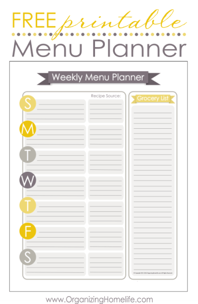 Free-Printable-Menu-Planner