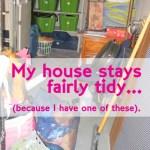 The Catch-All Storage Closet ~ Day #10
