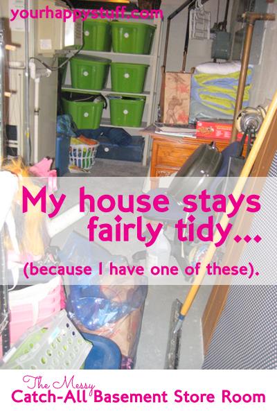 Organizing a Storage Room Closet