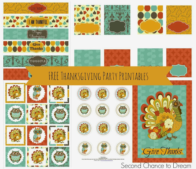 Thanksgiving printables 1