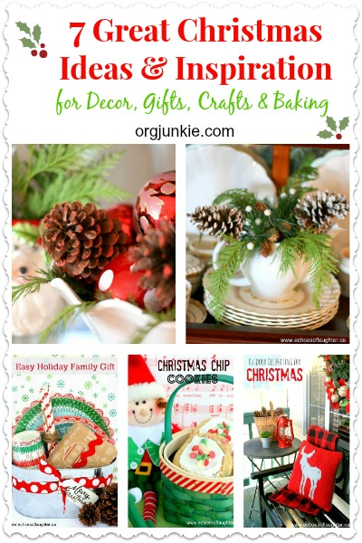 7 Great Christmas Ideas & Inspiration for Decor, Gifts, Crafts & Baking