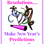 New Year's Predictions!