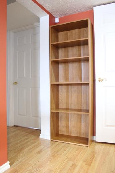 Bookshelf 25 Inches Wide