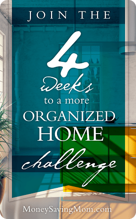 4 Weeks to a More Organized Home