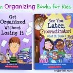 Two Fun Organizing Books for Kids