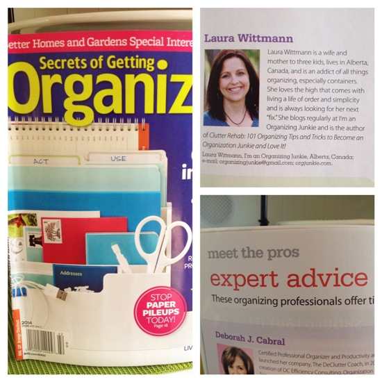 Secrets of Getting Organized at orgjunkie.com