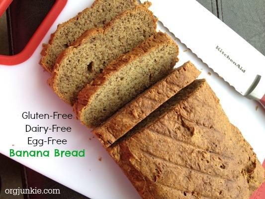 Gluten Free & Vegan Banana Bread