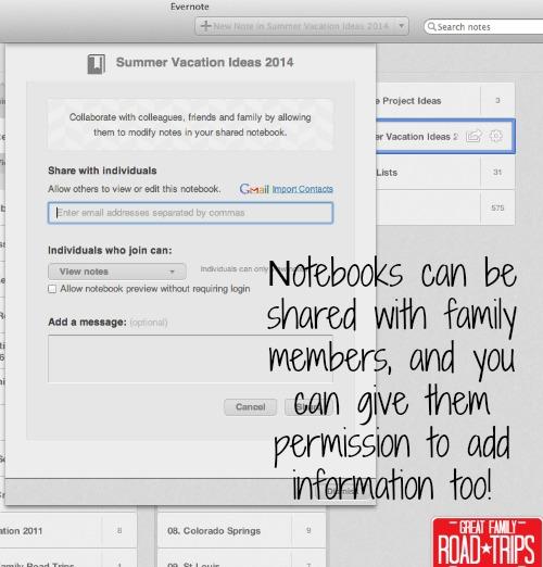 Share Notebooks