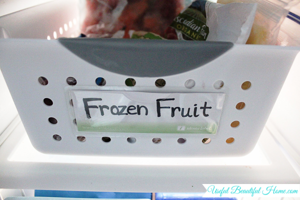 Yet another way to label your freezer containers.