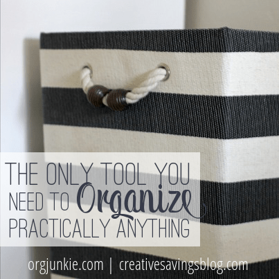 The Only Tool You Need to Organize Practically Anything