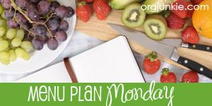 Menu Plan Monday for the week of June 2/14