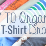 How to Organize Your T-Shirts
