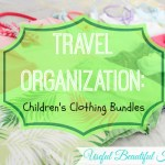 Travel Organization: Children's Clothing Bundles