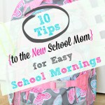 10 Tips for Easy School Mornings