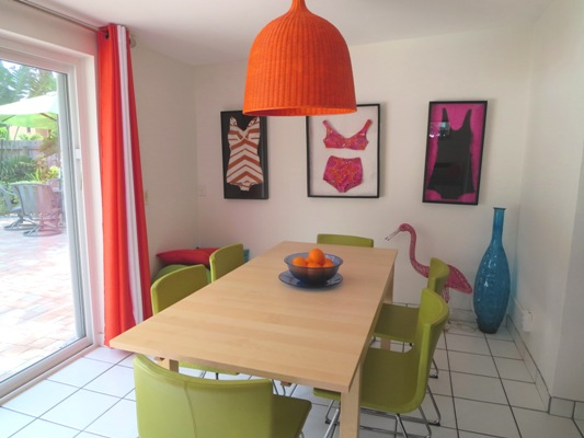 Rental House Dining Room