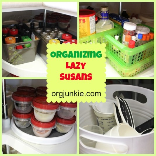 Organizing Lazy Susans