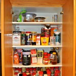 Quick Organizing Tasks: Spice Cabinet Makeover