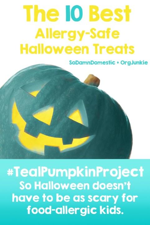 The 10 Best Allergy-Safe Halloween Treats - #TealPumpkinProject
