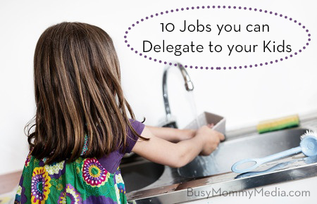 10 Jobs You Can Delegate to Your Kids