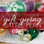 How to Create a Gift-Giving Battle Plan
