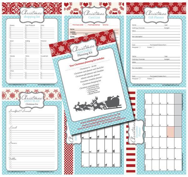 Christmas Printable Planning Kit