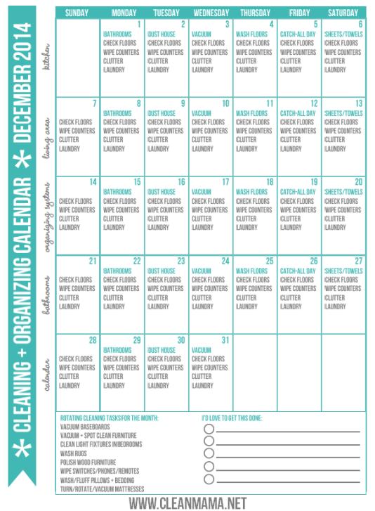 December-2014-Clean-Organized-Calendar-via-Clean-Mama