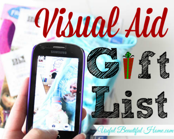 Visual Aid Gift List Tracking at I'm an Organizing Junkie