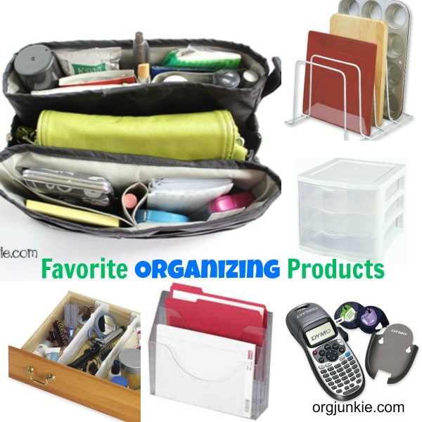 A few of my favorite organizing products at I'm an Organizing Junkie blog