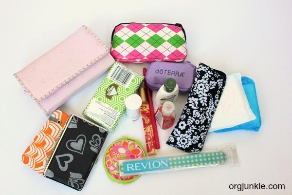 purse contents