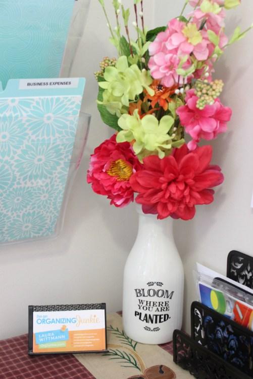 Command Center flowers