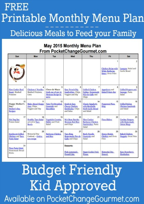 May-Printable-Monthly-Menu-Plan